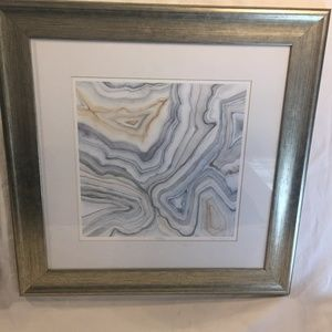 Other - MEGAN MEAGHER- AGATE ABSTRACT I & II signed prints